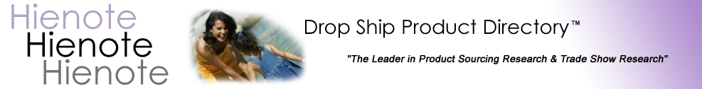 Hienote Inc. Wholesale Drop Ship List Directory